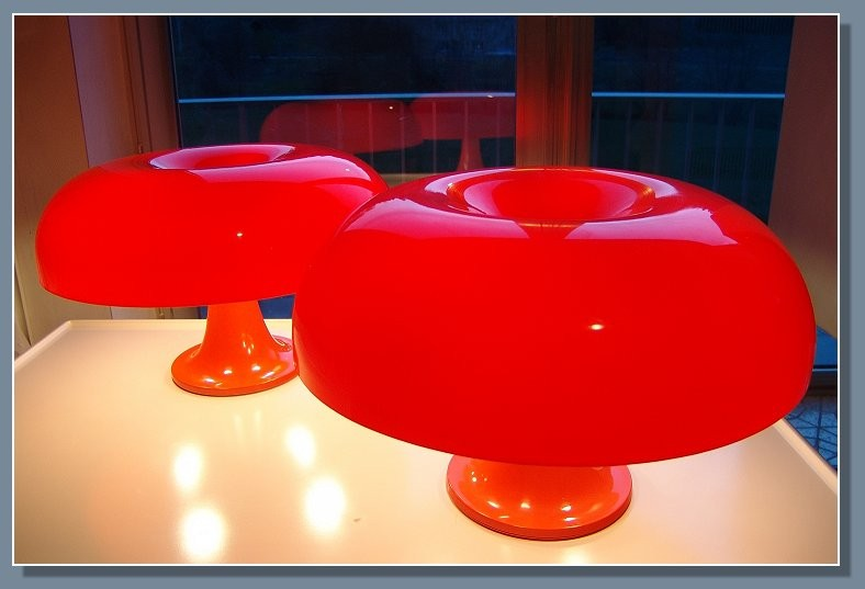 Artemide, Nesso, Giano-Giano-Vano, 60s, 70s, Sixties, Seventies, Lamp, Table, plastic, vintage, collection, ebay, blog