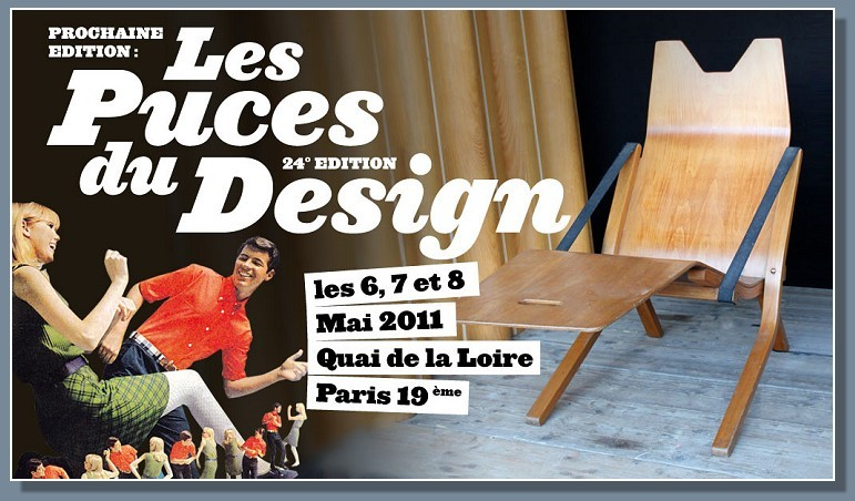 Puces du Design, Paris, 2011, Brocante, Design, Teddy