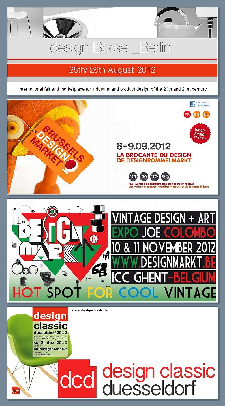 Design, Boerse, Market, Brocante, Belgium, Belgique, Deutchland, Germany, Dusseldorf, Berlin, Brussels, Bruxelles, Ghent, Gent, Calendar, Calendrier